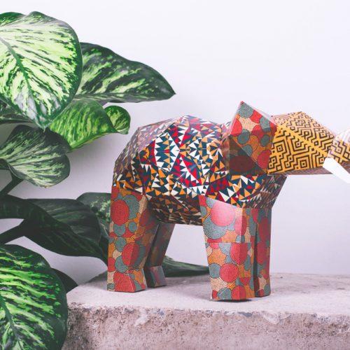 Name Them Save Them: Gewinne deinen Elefanten als Origami-Kunstwerk