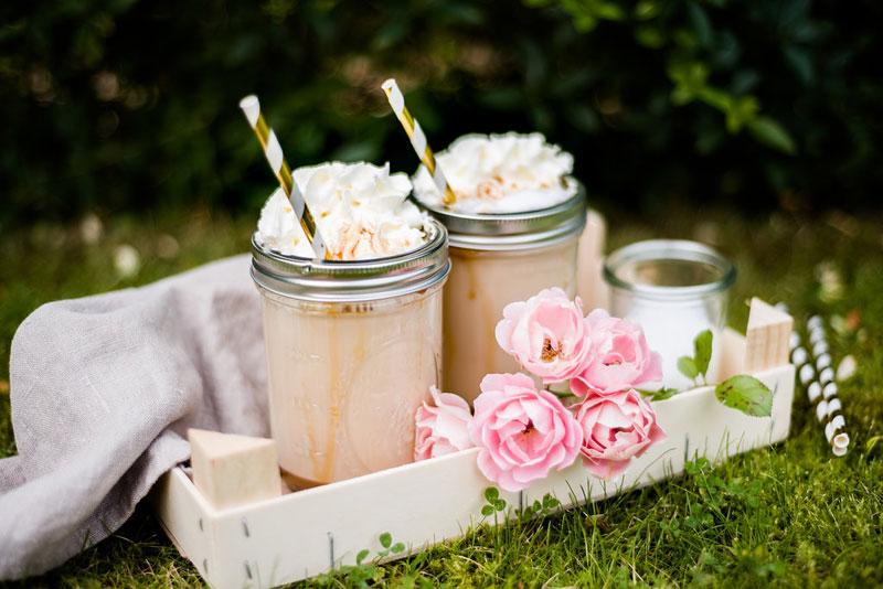 Eiskaffee mit Amarula & Salted Caramel
