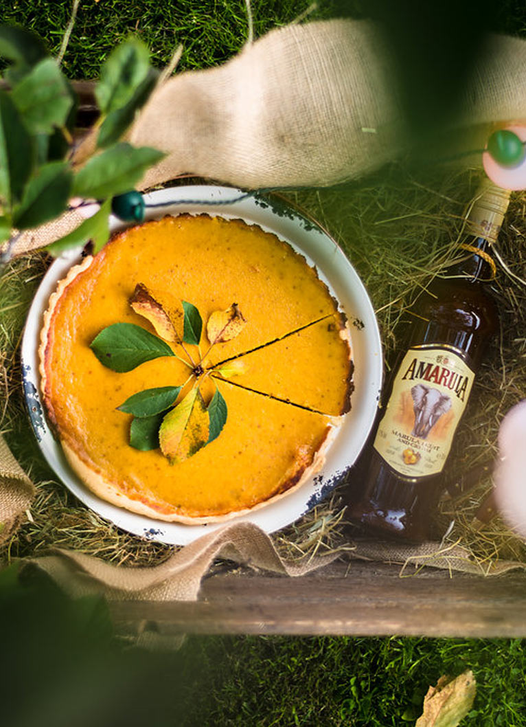 Pumpkin Pie mit Amarula
