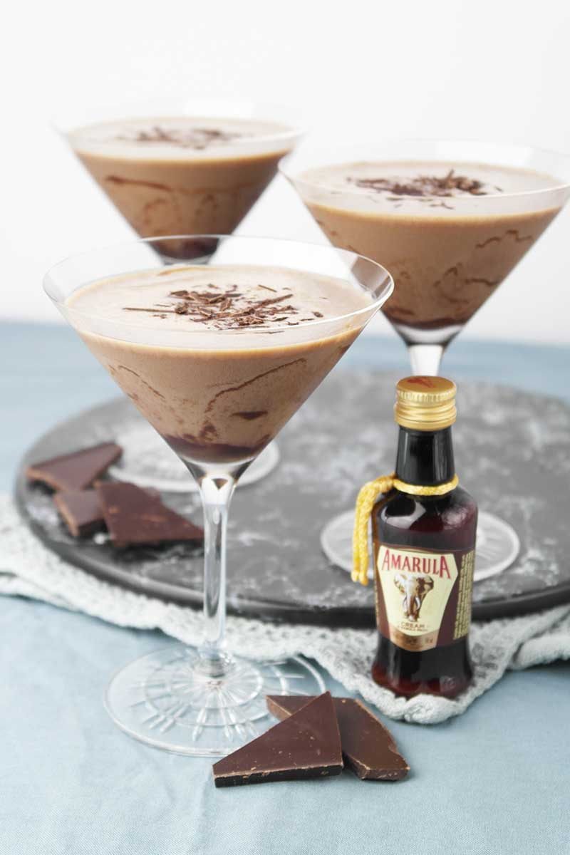 Amarula Schokoladen Martini..
