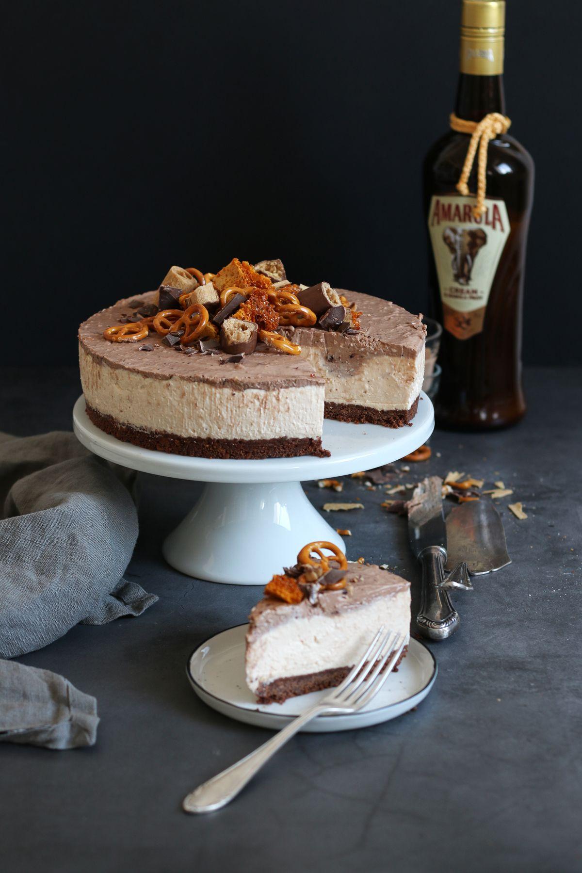 Amarula no bake Cheesecake..