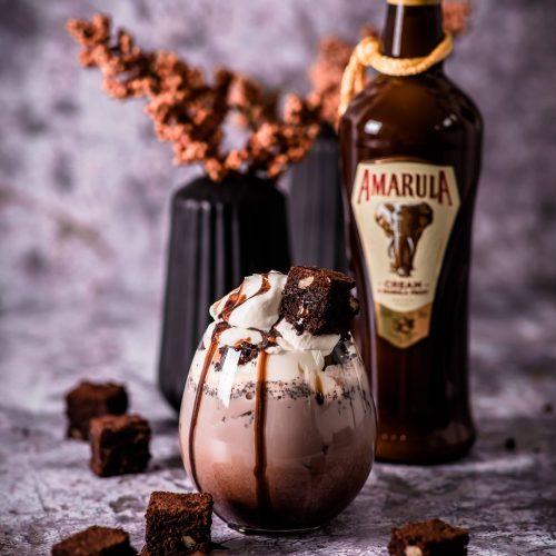 Amarula Brownie Shake