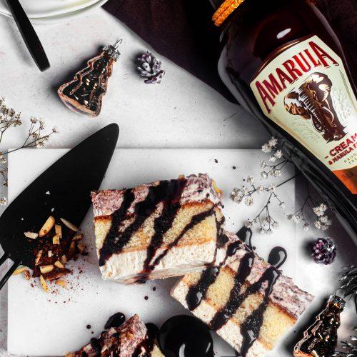 Weihnachtliches Amarula-Semifreddo